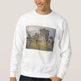 Image de collage. Footballeurs de soldat d'enfant Sweatshirt