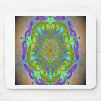image de conception de kaléidoscope tapis de souris