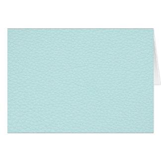 Image de cuir léger de turquoise cartes de vœux