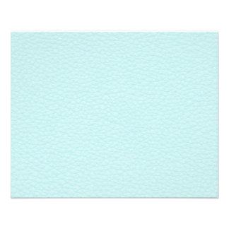 Image de cuir léger de turquoise prospectus 11,4 cm x 14,2 cm