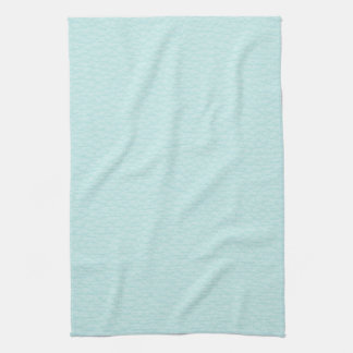 Image de cuir léger de turquoise serviettes éponge