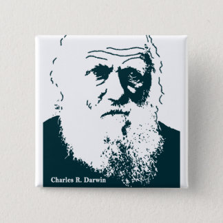 Image de Darwin. Bouton Pin's