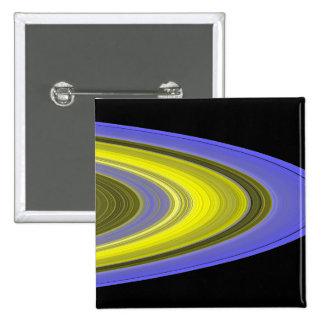 image de Faux-couleur des anneaux de Saturn Badge