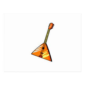 Image de graphique d'instrument ficelée par carte postale
