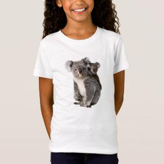 Image de koala pour Fille-T-chemise-Blanc T-Shirt