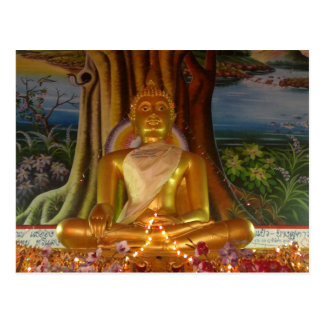 Image de la Thaïlande Bouddha de carte postale