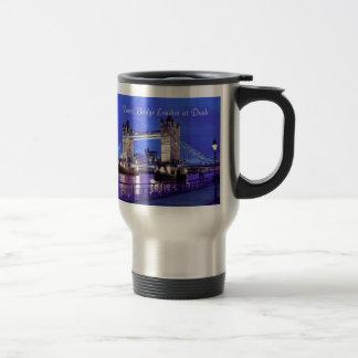 Image de Londres pour la Voyage-Banlieusard-Tasse Mug De Voyage En Acier Inoxydable