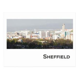 Image de paysage de Sheffield Cartes Postales