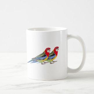 Image de perroquet pour la tasse blanche classique