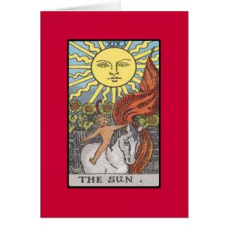 Image de tarot de carte de The Sun