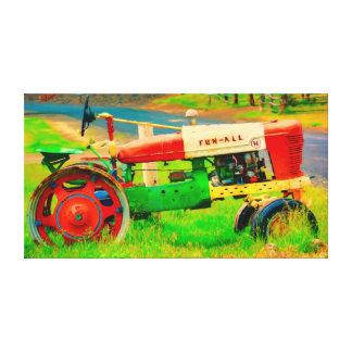 Image de toile Amusement-Tout tracteur dans la