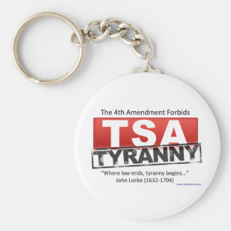 Image de tyrannie de Zazzle TSA Porte-clé Rond
