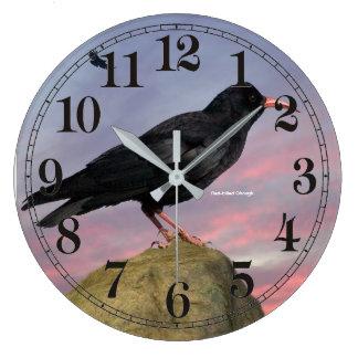 image d'oiseau pour (la grande) horloge murale