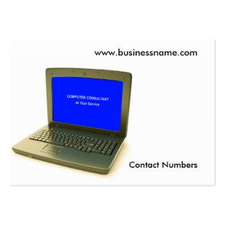 Image d'ordinateur pour le carte de visite