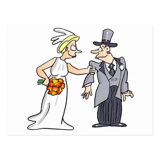 Image dr le de mariage cartes postales zazzle - Photo de mariage drole ...