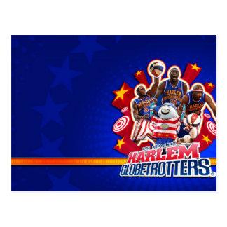 Image du groupe du globe-trotter de Harlem Carte Postale