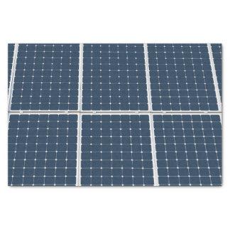 Image d'un panneau d'énergie solaire drôle papier mousseline