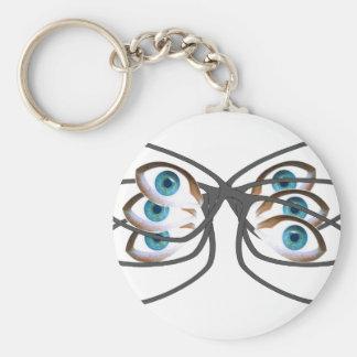 Image en verre porte-clés