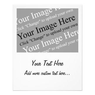 Image et modèle faits sur commande des textes pour tract personnalisé