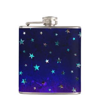 Image étoilée de belle nuit de galaxie de l'espace flasques