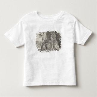 Image étrange des Toilers dans les mines de T-shirt Pour Les Tous Petits