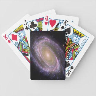 image fraîche avec le galaxi et les étoiles jeu de poker