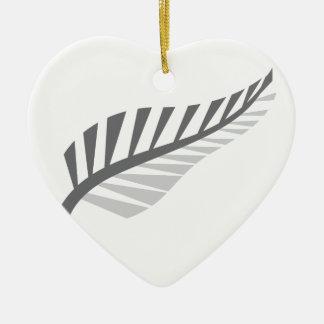 Image impressionnante de la Nouvelle Zélande de Ornement Cœur En Céramique