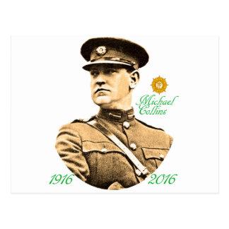 Image irlandaise de héros pour la carte postale