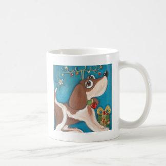image.jpg droit le beagle mug blanc