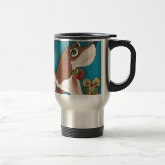 image.jpg droit le beagle mug de voyage en acier inoxydable