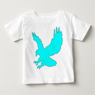 Image légère d'Eagle de bleu de ciel T-shirts