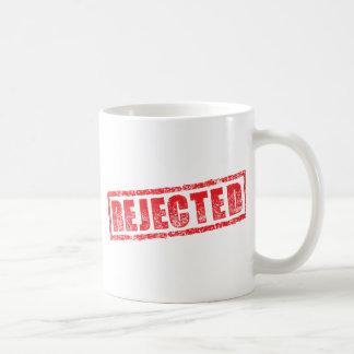 Image rejetée de tampon en caoutchouc mug