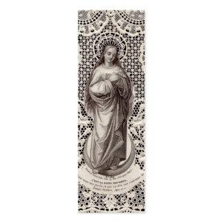 Image religieuse vintage pour l art de glissière d cartes de visite professionnelles