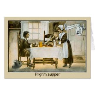 Image vintage de reproduction, la compagnie de cartes de vœux