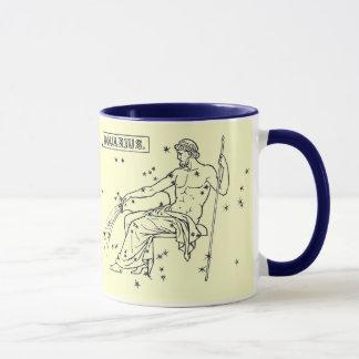 Image vintage - zodiaque - Verseau Mug