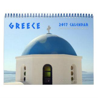 Images de calendrier mural de la Grèce