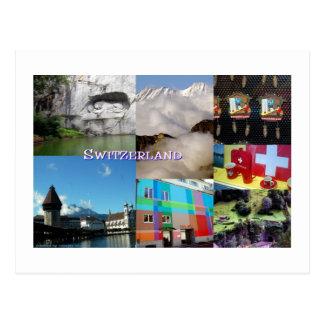 Images de carte postale de la Suisse