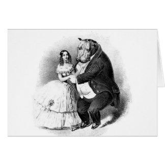 Images de la féminité - amour vrai cartes de vœux