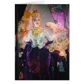 Images de la féminité - chez Tiffany Cartes De Vœux