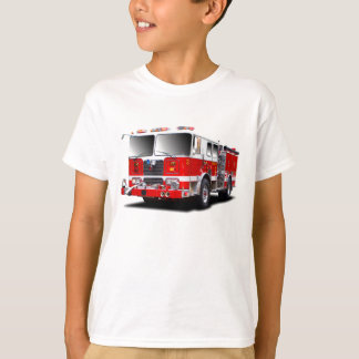 Images de pompe à incendie pour le T-shirt