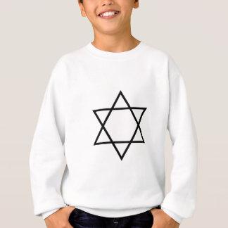 Images du nombre 6 : l'hexagramme sweatshirt