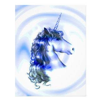 Imaginaire d'aura de licorne prospectus 21,6 cm x 24,94 cm