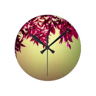 Imaginaire décoratif de nature pendule murale