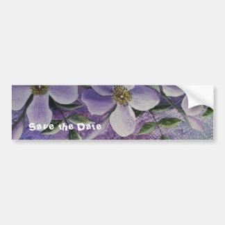 Imaginaire floral d'adhésif pour pare-chocs adhésifs pour voiture