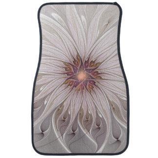 Imaginaire floral, fleur en pastel moderne tapis de sol