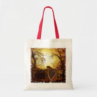 Imaginaire lunatique de vent d'automne sacs fourre-tout