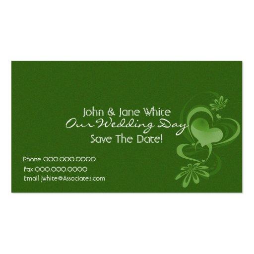 Imaginaire Romance notre carte de visite de mariag