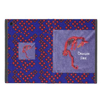 Imaginaire rouge de mythe de dragon étuis iPad mini