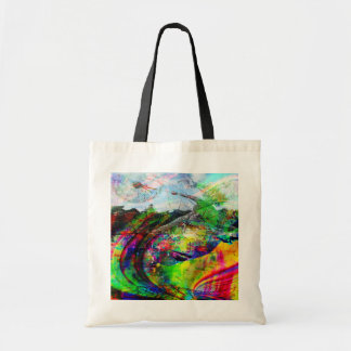 Imaginaire tropical abstrait sac