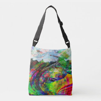 Imaginaire tropical abstrait sac ajustable